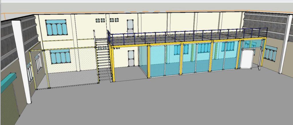 Thiết kế lắp đặt hệ thống nhà kho và đi máng điện kcn long thành 3 1024x437 - Thiết kế lắp đặt hệ thống nhà kho và đi máng điện kcn long thành