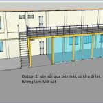 Thiết kế lắp đặt hệ thống nhà kho và đi máng điện kcn long thành