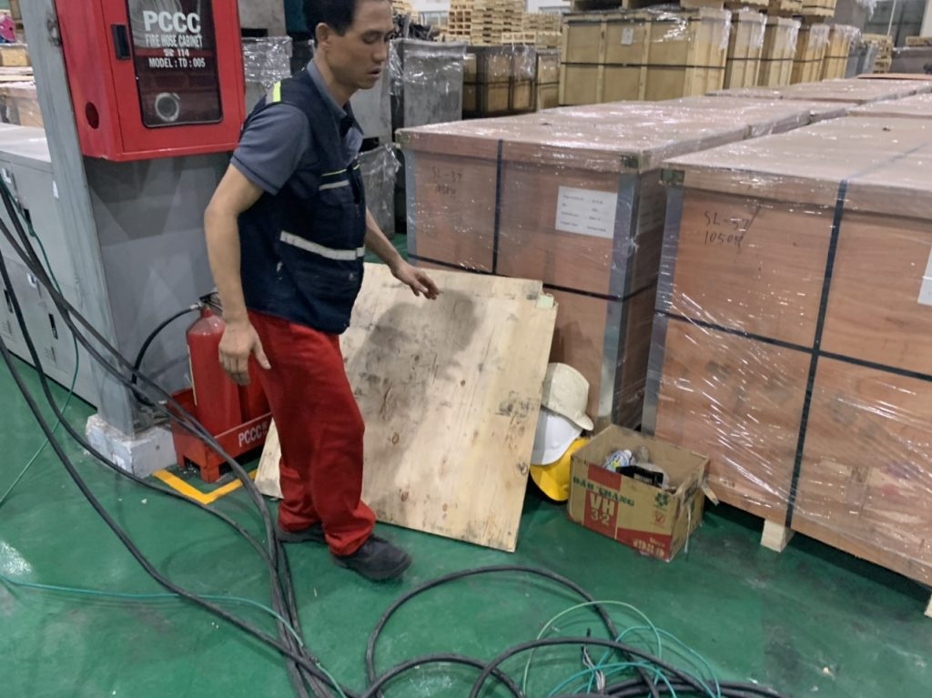 lắp cẩu trục 500kg kcn sóng thần bình dương 18 1024x767 - Lắp cẩu trục 500kg