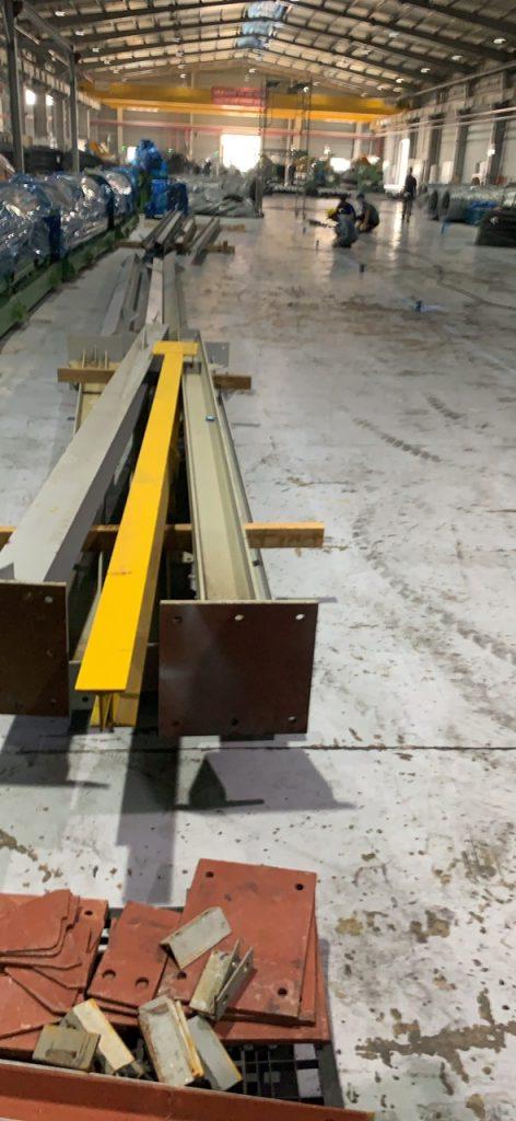 Lắp cẩu trục monorail kcn mỹ phước 3 bình dương