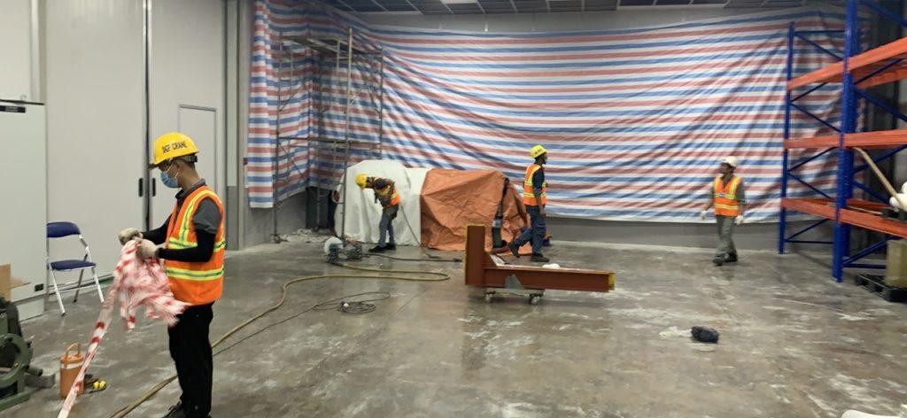 Hàn gối lắp cẩu monorail 2 ton kcn nhon trach 6 6 1024x472 - Hàn gối lắp cẩu monorail 2 ton