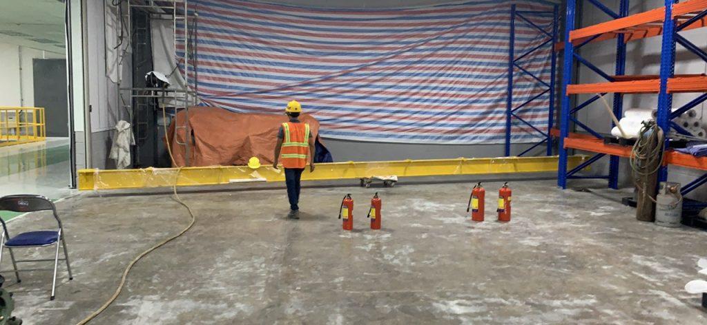 Hàn gối lắp cẩu monorail 2 ton kcn nhon trach 6 9 1024x472 - Hàn gối lắp cẩu monorail 2 ton