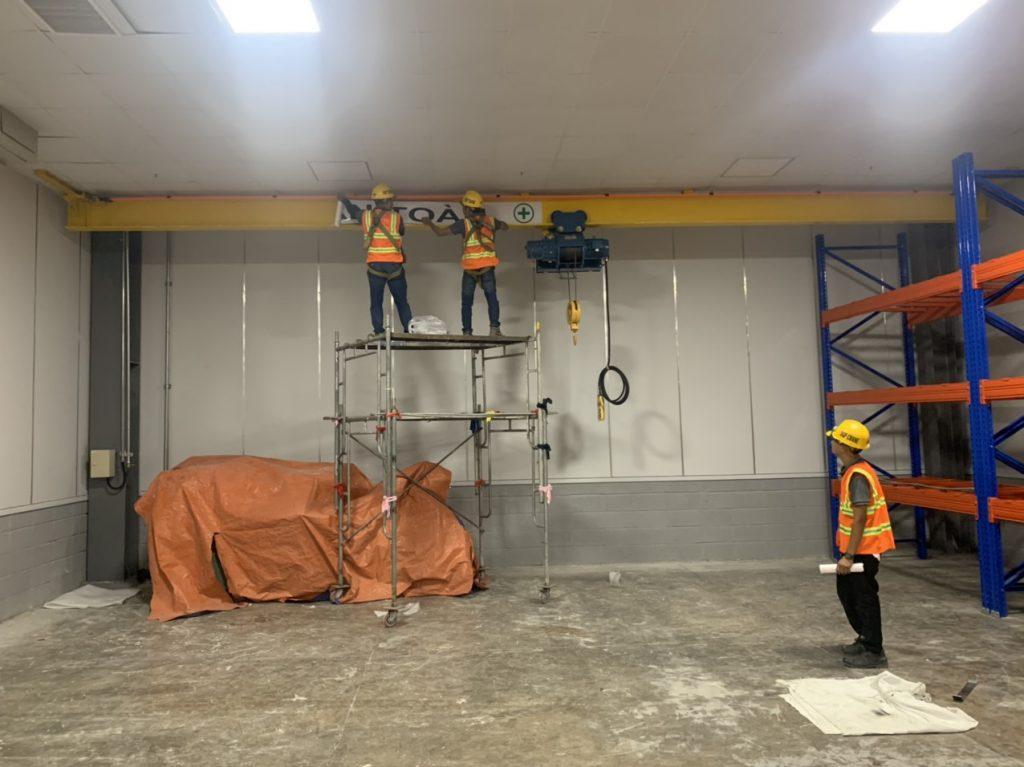 Hoàn thiện cầu trục monorail 2 ton kcn nhon trach 6 6 1024x767 - Hoàn thiện cầu trục monorail 2 ton