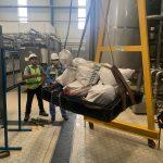 Thử tải cổng trục 250kg