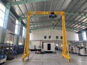 Lắp cổng trục 5ton visip2 bình dương 5 300x225 - Lắp cổng trục 5 ton