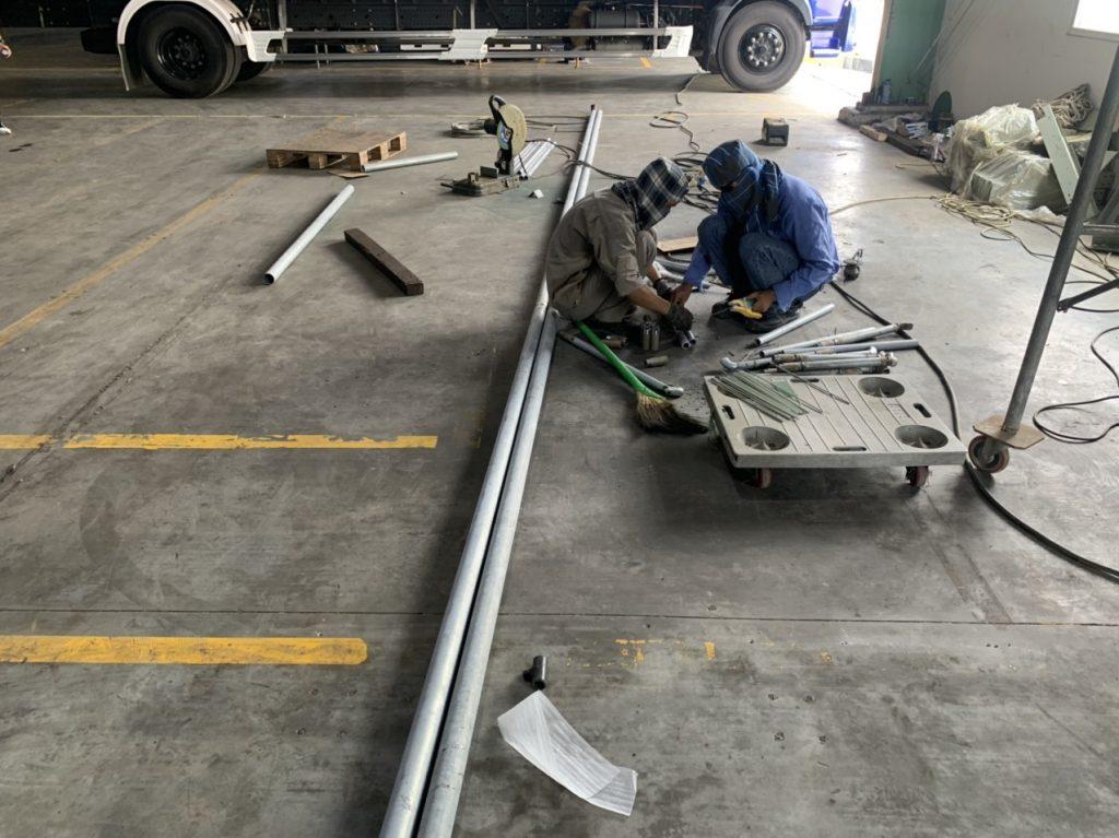 Đường ống dẫn nhà xưởng