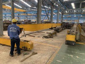 Căn chỉnh cẩu trục 5 tấn kcn Mỹ Xuân B1 2 300x225 - Căn chỉnh cẩu trục 5 tấn