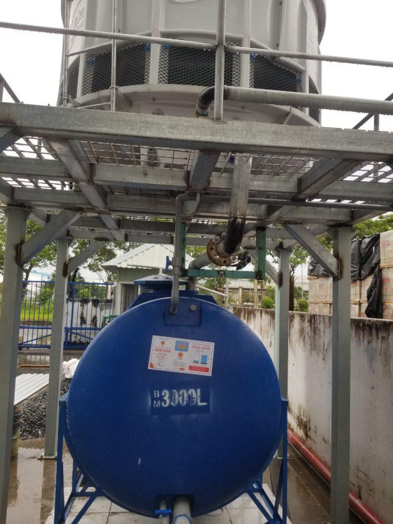 Lắp đặt hệ thống tháp giải nhiệt