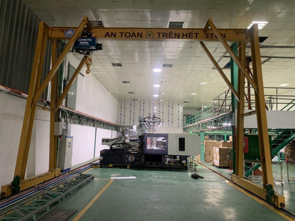 Cổng trục 3 tấn kcn Nhơn Trạch